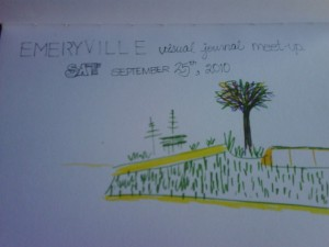 Emeryville Visual Journal Meet Up Group