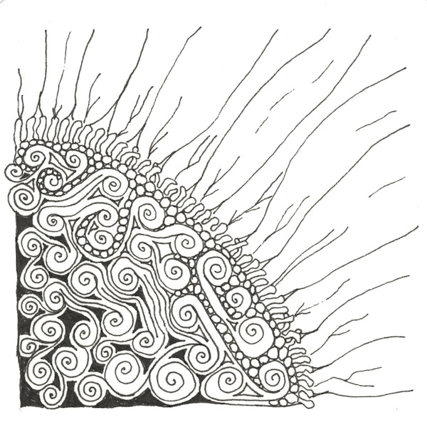 Zentangle image by Grace Mendez