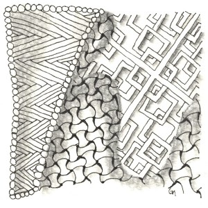 Hibred, Huggins, Hazen Zentangle