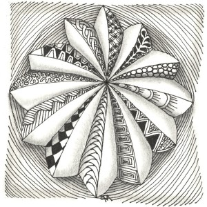 Zentangle by Grace Mendez, Creativity Coach, Certified Zentangle Teacher
