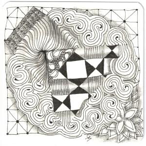 Zentangle by Grace Mendez