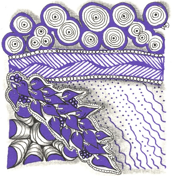 Zentangle by Grace Mendez