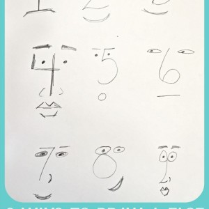9 Ways to Draw a Face Grace Mendez