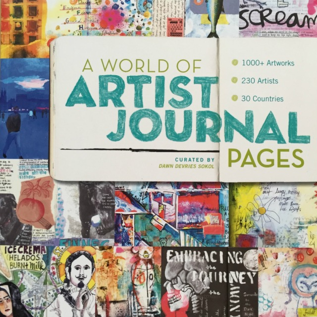 A world of Artist Journal Pages Review by Grace Mendez
