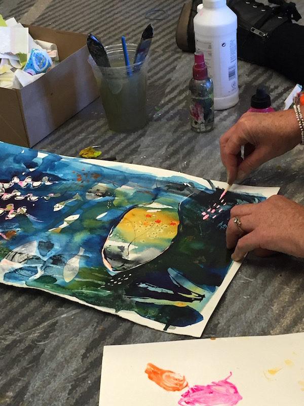 Art is You Tracy Verdugo Workshop Demo