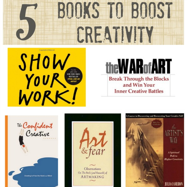 5 Books to Boost Creativity