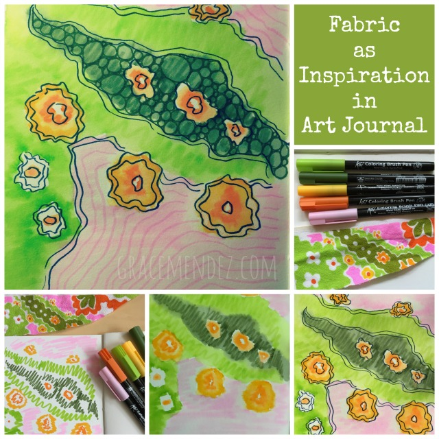 Fabric as Inspiration Grace Mendez