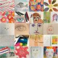 Grace Mendez 100 day project postcards 01