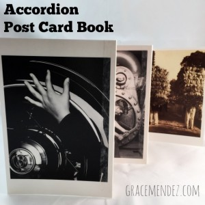 Accordion Post Card Book