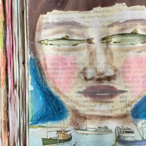 A Peek into an Altered Book Art Journal