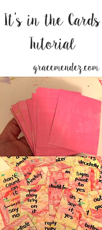 Grace Mendez It's in the Cards Tutorial