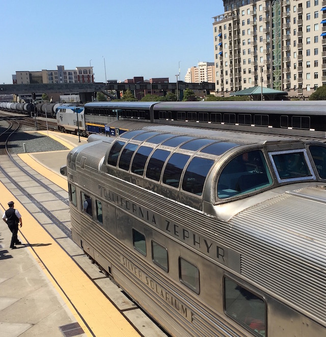 Grace Mendez: Emeryville Amtrak