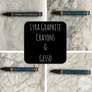 Lyra Graphite Crayons and Gesso