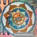 Grace Mendez Mandala Monday Mixed Media
