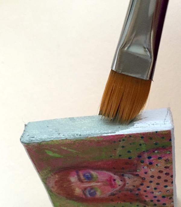 Grace Mendez Mini Canvas Paint Sides