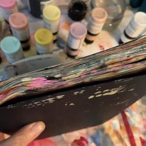 Prepping Pages in an Art Journal