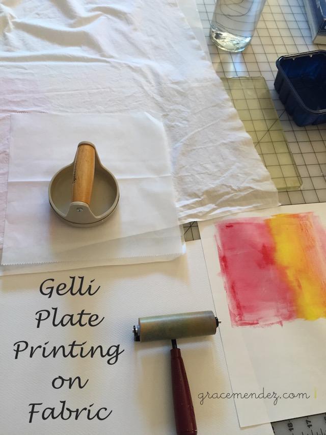 Grace Mendez Printing on Fabric