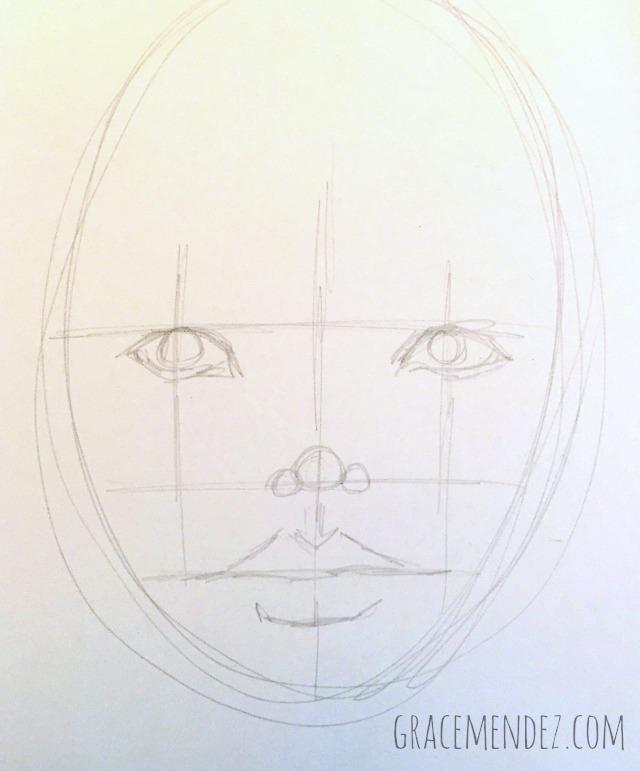 Grace Mendez Sketch Start