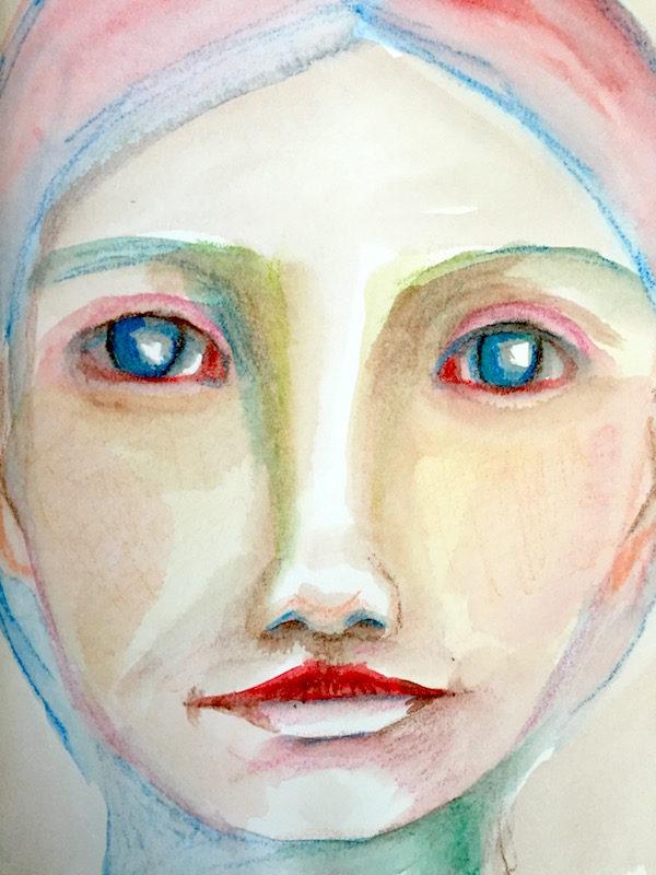 Grace Mendez Stabilo Woody Portrait