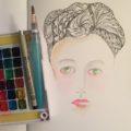 Grace Mendez Tangled Hair Portrait