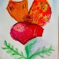 Grace Mendez Tissue Paper Painting