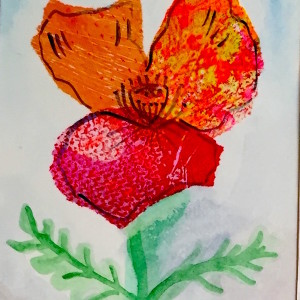 Tissue Paper Paintings Tutorial