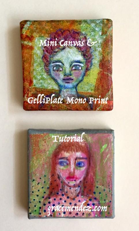 Grace Mendez Tutorial Mini Canvas