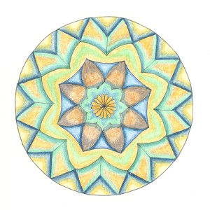 Mandala Monday Coloring Page