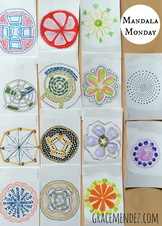 Mandala Monday Grace Mendez