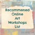 Online Art Workshops List Grace Mendez
