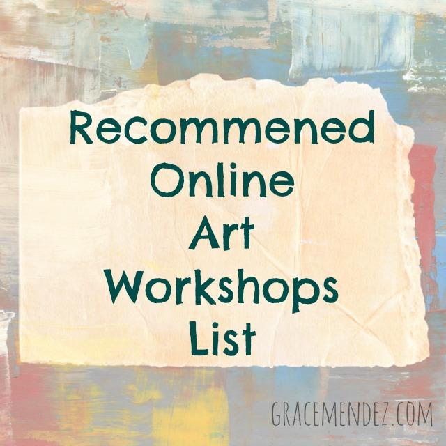 Online Art Workshops List Grace Mendez