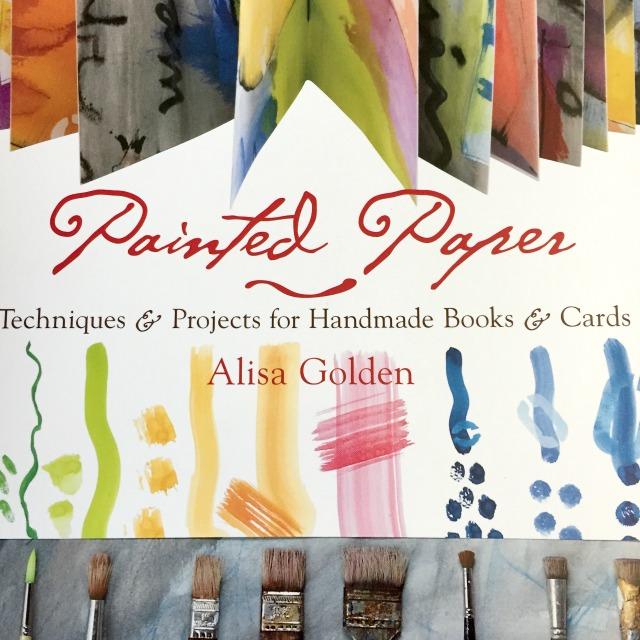 Painted Paper by Alisa Golden Grace Mendez