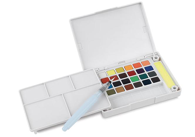 Sakura watercolor set