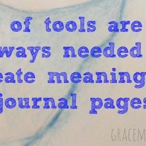 Minimal Art Journal Page