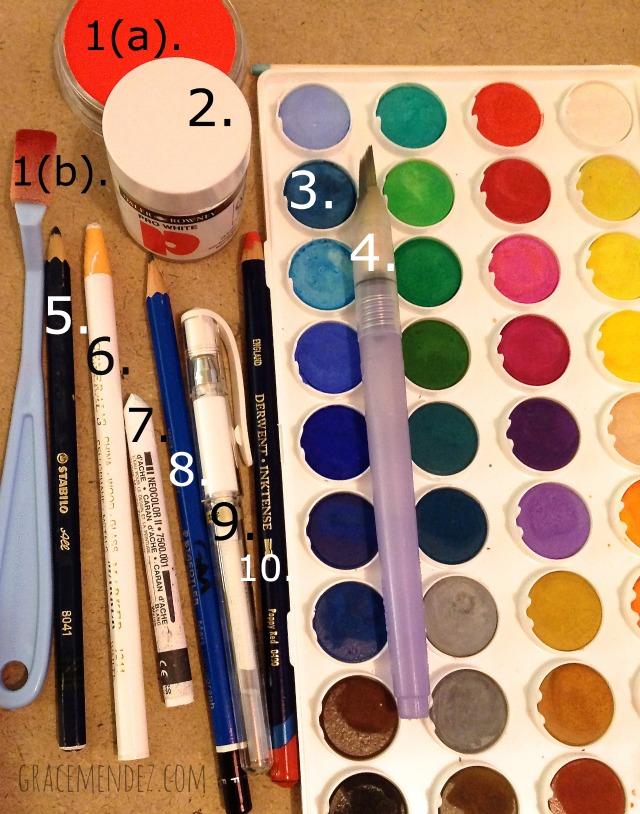 10 Art Journaling Supplies