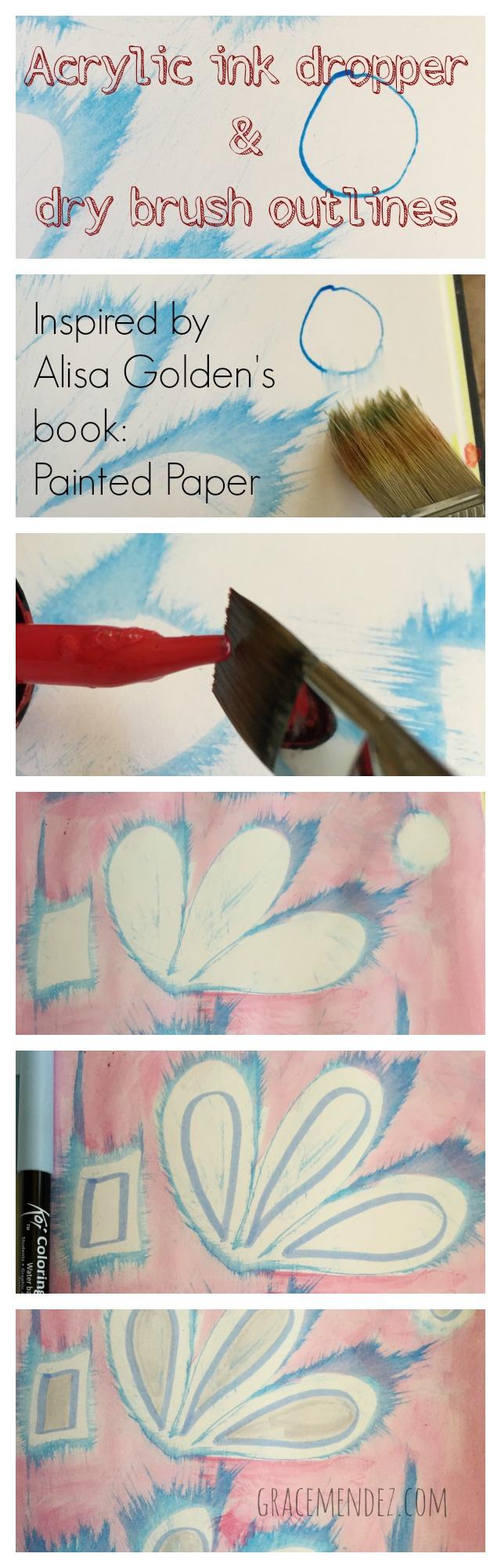 Painted Paper Grace Mendez