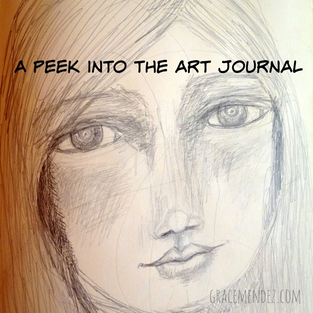 Peek into Grace Mendez' Art Journal