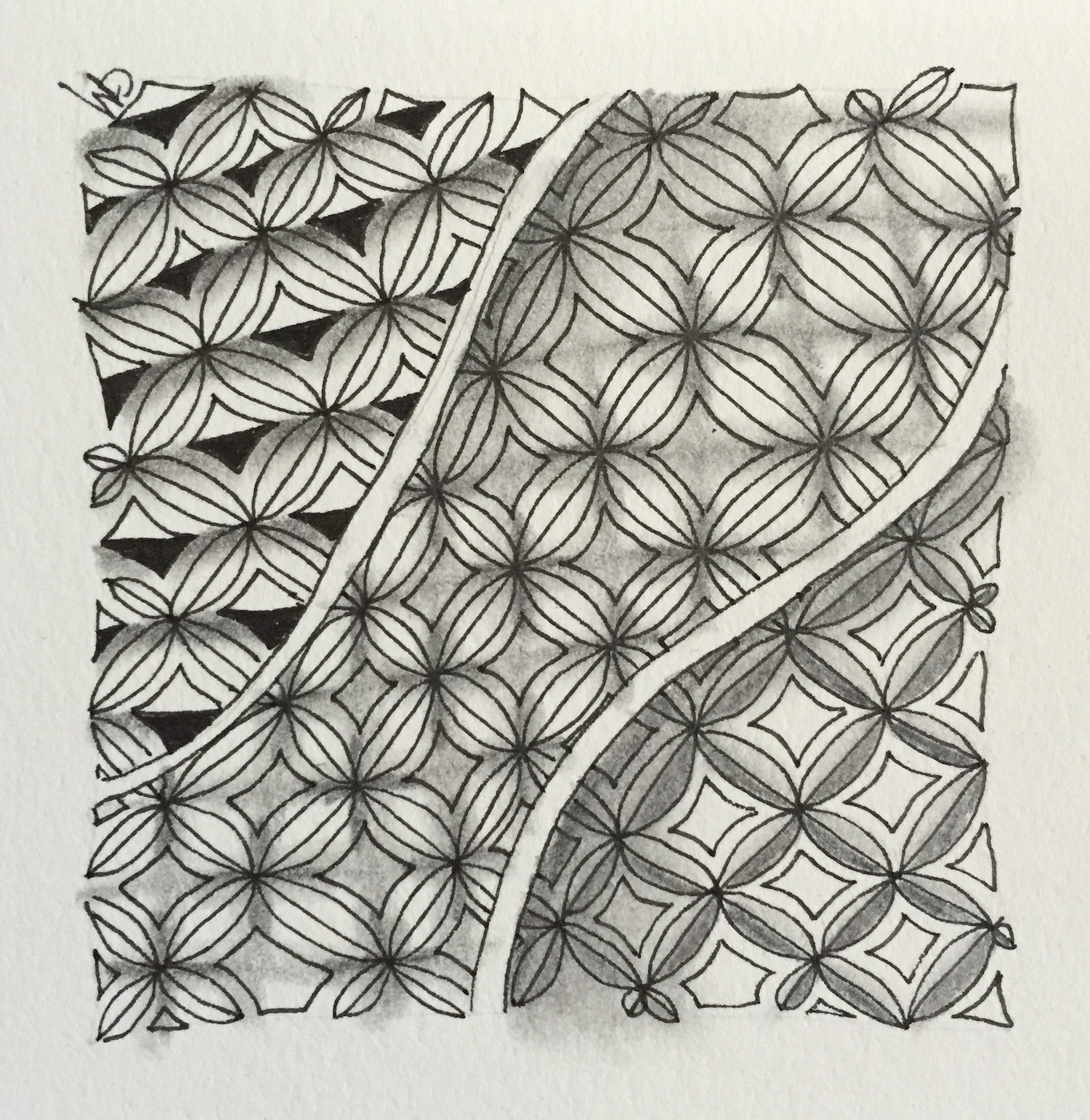 shading zentangle Grace Mendez