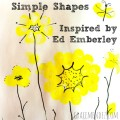 Ed Emberley simple shapes Grace Mendez