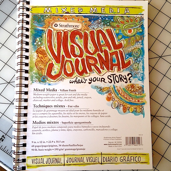 Strathmore Visual Journal Spiral Sketchbook for Art Journaling