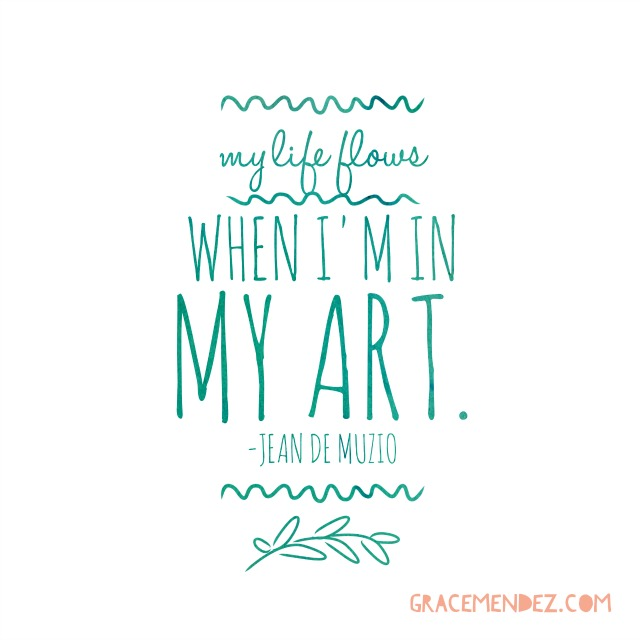 Life Flows Grace Mendez