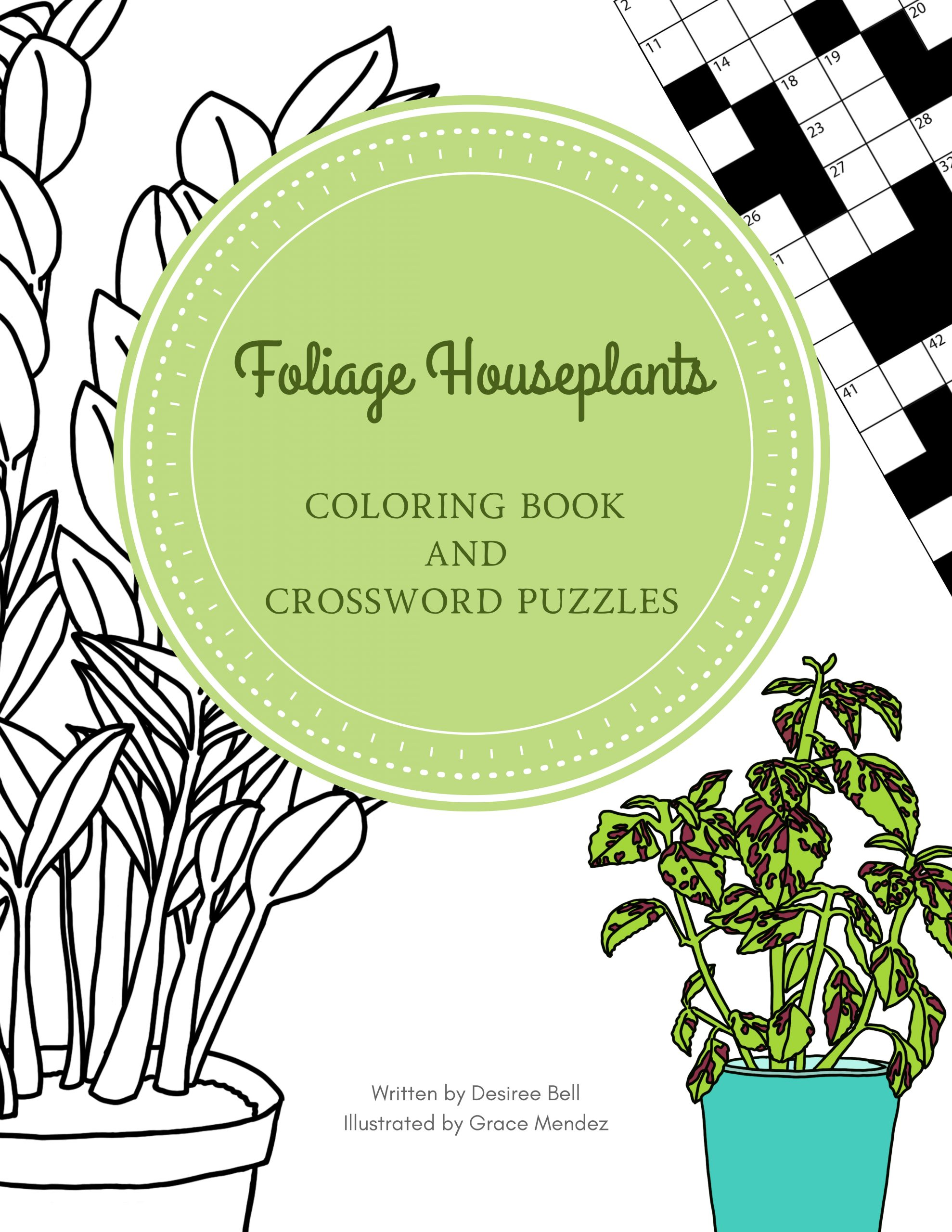 Foliage Houseplants Activity Book