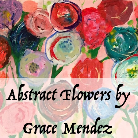 Grace Mendez Abstract Flowers