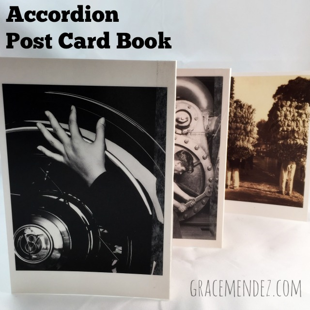 Grace Mendez: Accordion Postcard Book