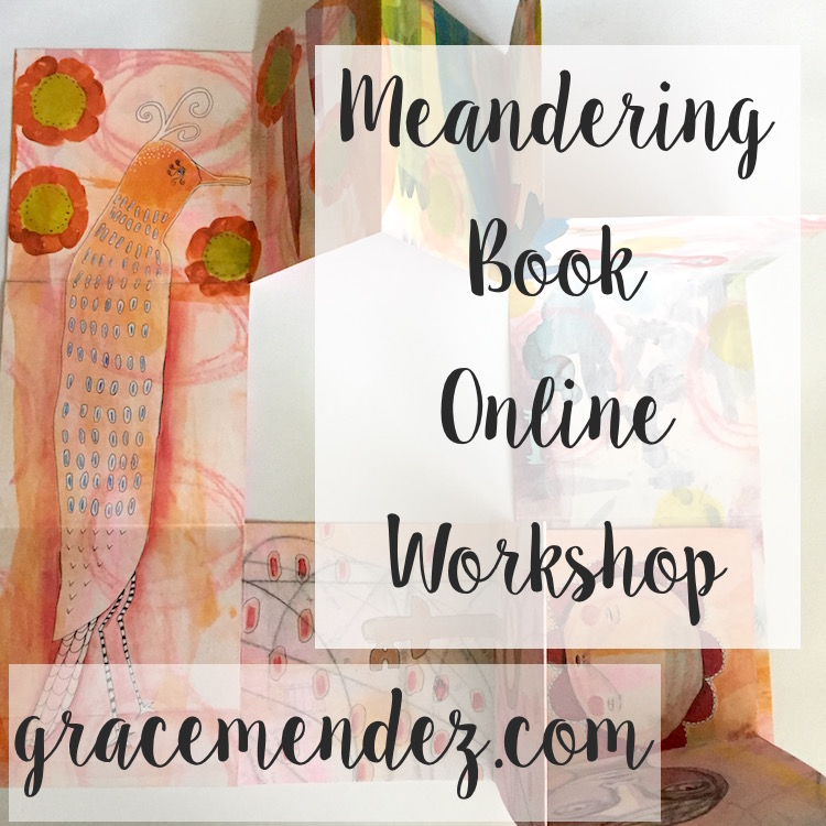Grace Mendez Meandering Book Online Workshop