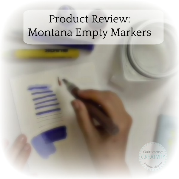 Grace Mendez Product Review: Montana Empty Markers