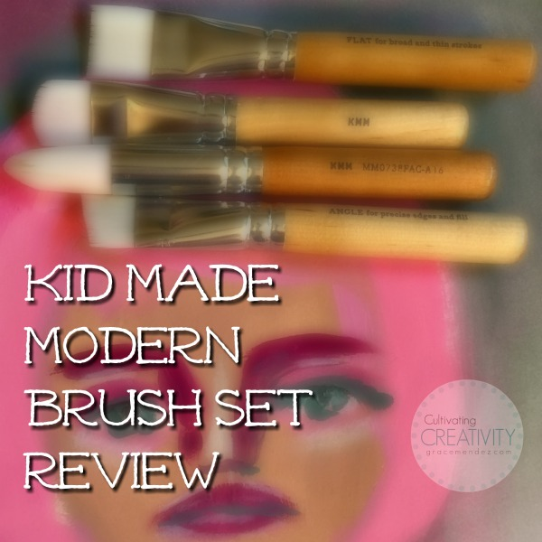 Grace Mendez Kid Made Modern Brush Set Review