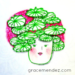 bad hair day by Grace Mendez